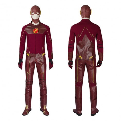 DC The Flash Season 1 Barry Allen Cosplay Costume