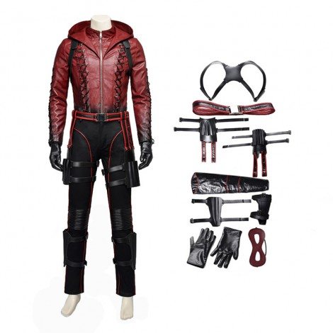 DC Red Arrow Roy Harper Cosplay Costume