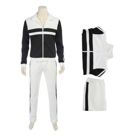 Top Level PUBG Kitano Teacher Sports Style Cosplay Costume