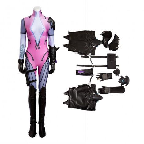 Top Level Overwatch Black widow Amelie Lacroix Cosplay Costume
