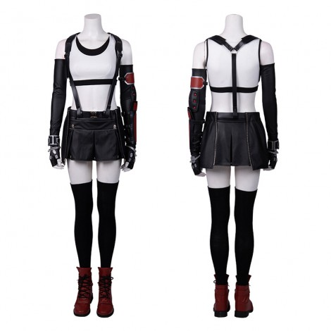 Tifa Costume Final Fantasy VII Remake Cosplay Costume Full Set