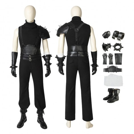 Cloud Strife Costumes Final Fantasy VII Remake Cosplay Costumes