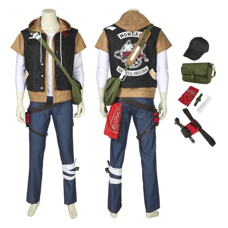 Deacon St John Costumes Days Gone Cosplay Costumes