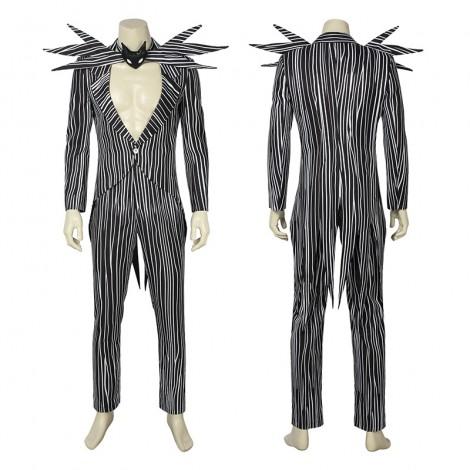 Jack Skellington Costumes The Nightmare Before Christmas Cosplay Costumes
