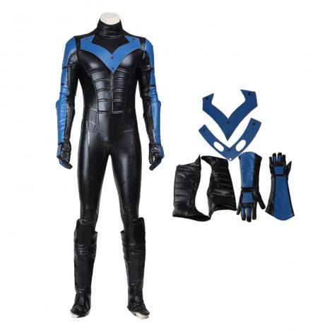 DC Comics Superhero Night Wing Cosplay Costume