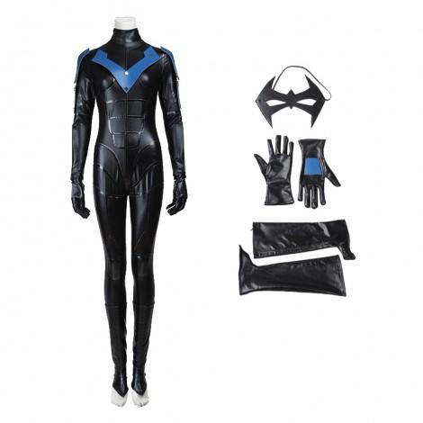 DC Comics Batman Arkham City Female Night Wing Cosplay Costume