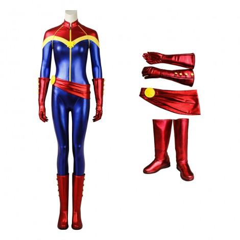 Captain Marvel Costumes Carol Danvers Cosplay