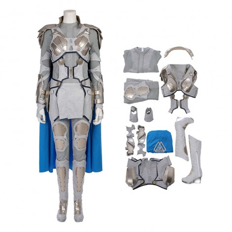 Valkyrie Costume Top Level White War Armor Cosplay Costume