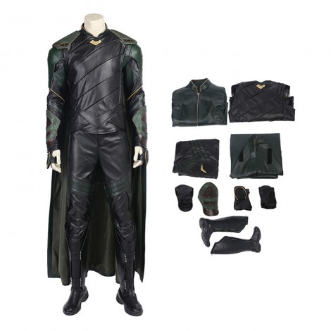 Thor Ragnarok Cosplay Costume Top Level Loki Costume