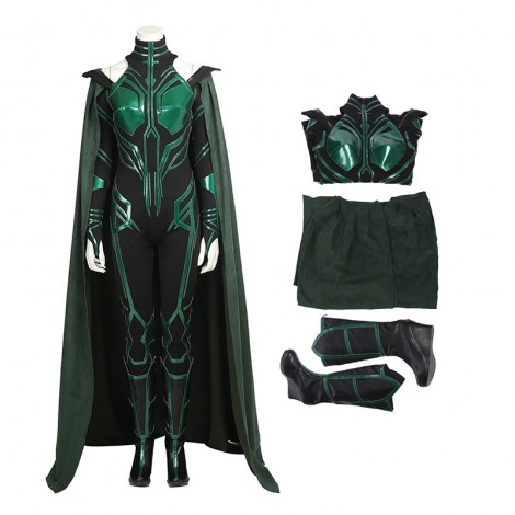 Thor Ragnarok Cosplay Costume Top Level Hela Costume