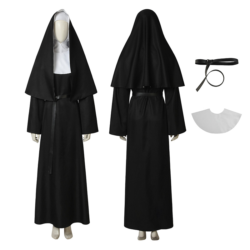 Demon Nun Costume Th...