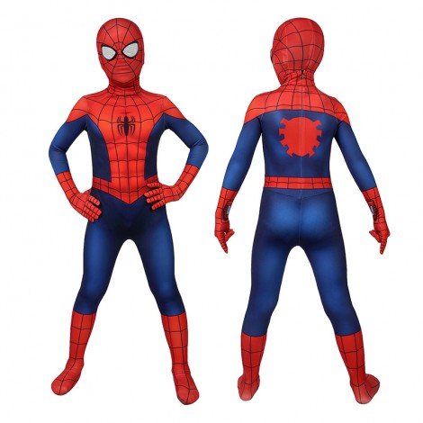 Kids Ultimate Spider-Man Costume Ultimate Spider-Man Classic Cosplay Costumes