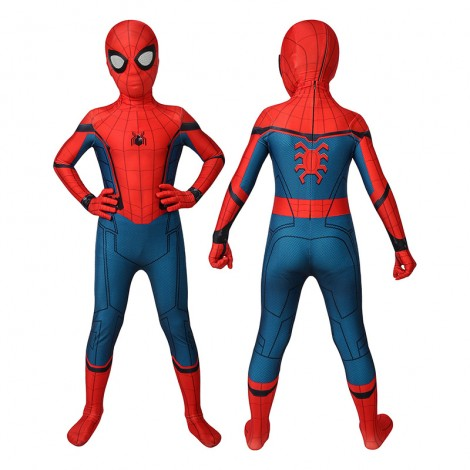 Kids Spider-Man Costumes Spider-Man Homecoming Cosplay Costumes