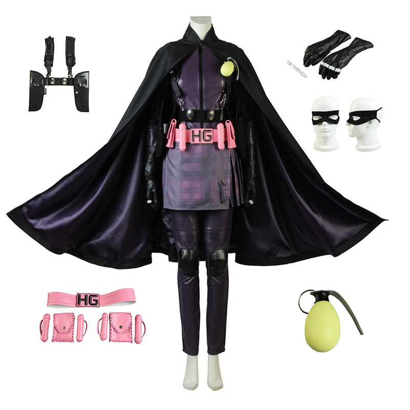 Hit-Girl Costume Kic...