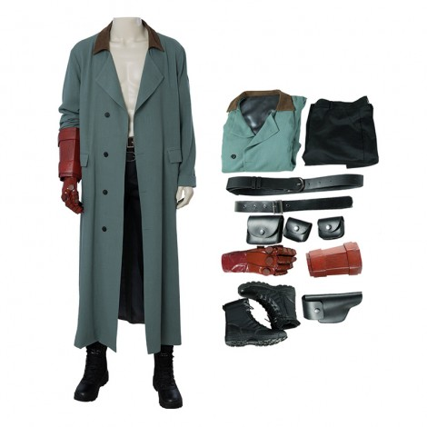 Hellboy Cosplay Costume Rise of the Blood Queen Costumes