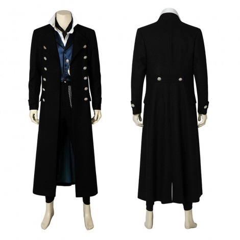 Gellert Grindelwald Costume Fantastic Beasts The Crimes Of Grindelwald Cosplay Costume