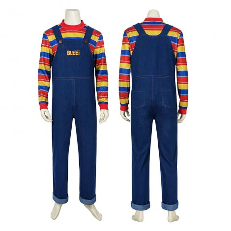Chucky Cosplay Costumes Childs Play Buddi Cosplay Costumes