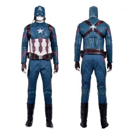 Marvel Captain America Civil War Captain America Steven Steve Rogers Cosplay Costume