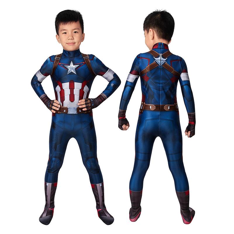 Kids Captain America...
