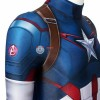 Kids Captain America  Costume Avengers: Age Of Ultron Steven Rogers Cosplay Costume