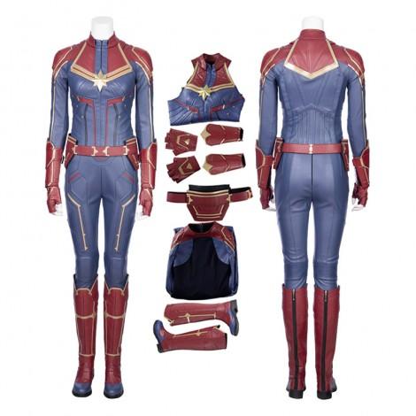 Captain Marvel Carol Danvers Cosplay Costume-B Edition