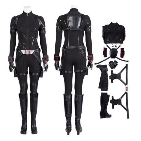 Black Widow Costume Avengers Endgame Natasha Romanoff Cosplay Costume