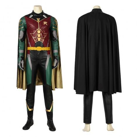 Robin Costume Titans Dick Grayson Cosplay Costume